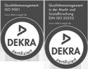 ISO-zertifizierte Qualität